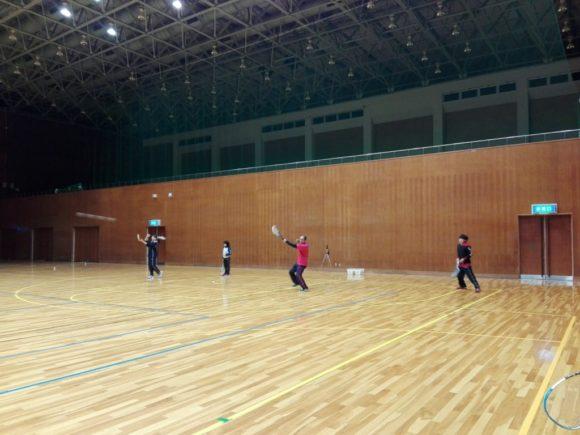 2018/03/03(土)夜間 ソフトテニス練習会・初心者~