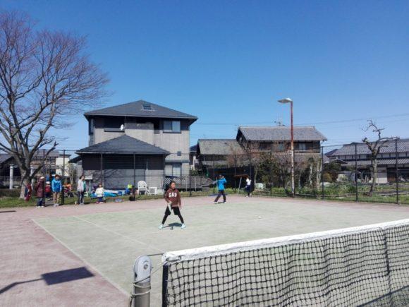 2018/03/17(土)午前 プラスワン・ソフトテニス練習会・未経験者~