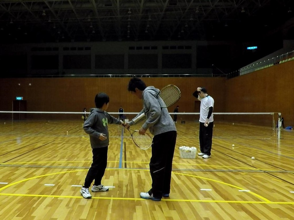 2018/03/24(土)夜間 プラスワン・ソフトテニス練習会/初心者~