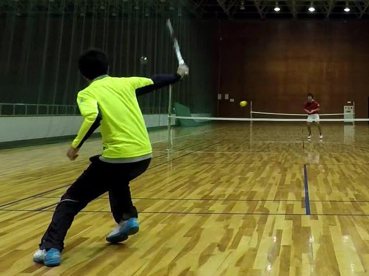 2018/03/07(水) スポンジテニス練習会@滋賀県(ショートテニス 、フレッシュテニス)