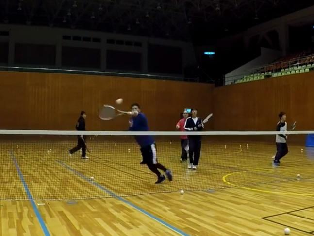 2018/03/19(月) プラスワン・ソフトテニス練習会