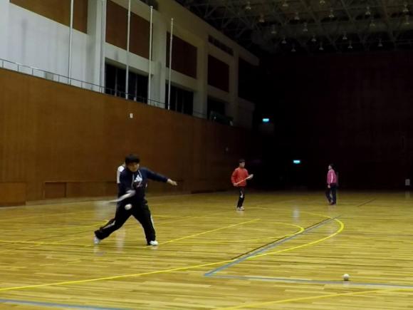 2018/03/10(土)夜間 ソフトテニス練習会・初心者~