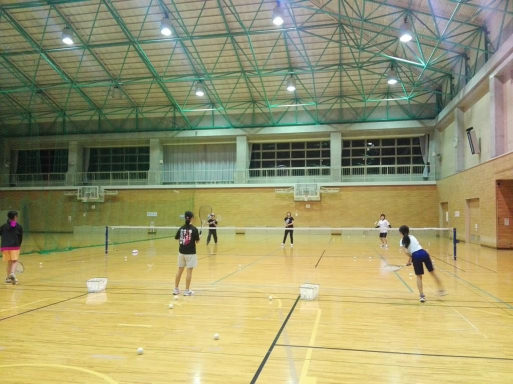 2018/04/18(水) プラスワン・ソフトテニス練習会