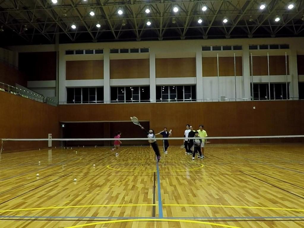 2018/03/31(土)夜間 プラスワン・ソフトテニス練習会/初心者~