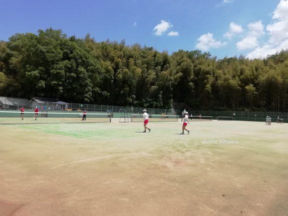 近畿ソフトテニス選手権2018@奈良県明日香庭球場