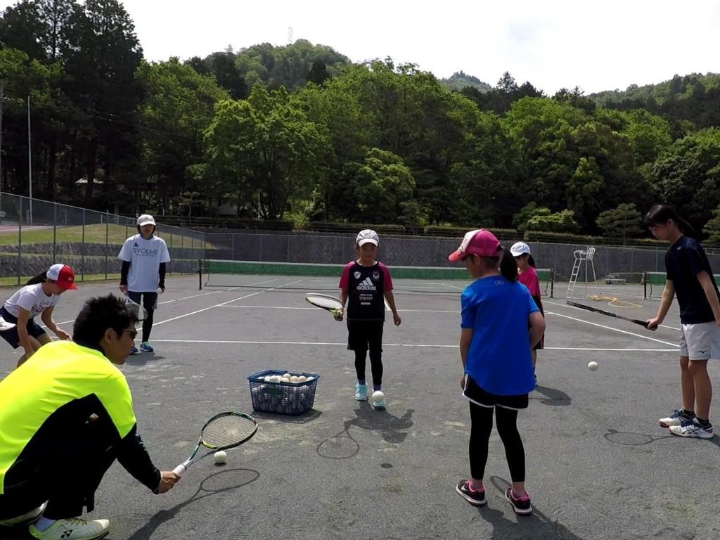 2018/05/12(土)午前 プラスワン・ソフトテニス練習会・未経験者~