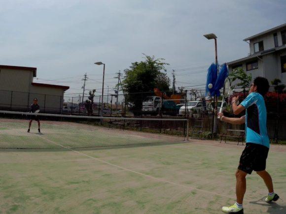 2018/04/30 東京都からのゲストと滋賀県近江八幡市でソフトテニス。