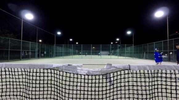 2018/05/11(金) プラスワン・ソフトテニス練習会 東近江市繖公園