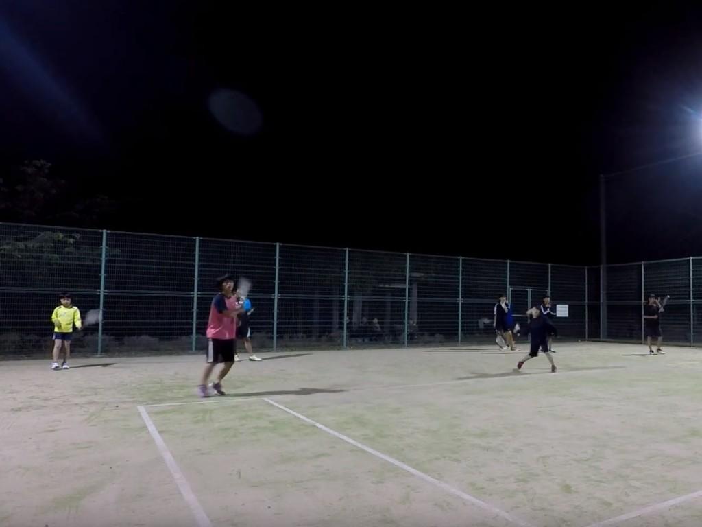 2018/05/26(土)夜間 初心者~練習会 プラスワンソフトテニス