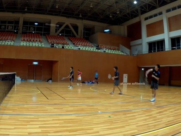 2018/05/09(火) プラスワン・ソフトテニス練習会