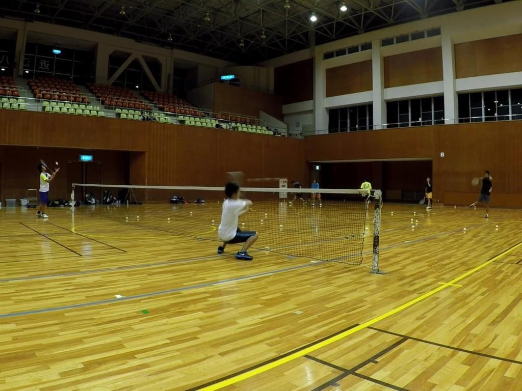 2018/06/12(火) プラスワン・ソフトテニス練習会
