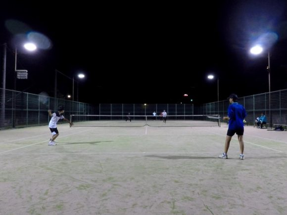 2018/06/16(土)夜間 初心者からの練習会 プラスワン・ソフトテニス