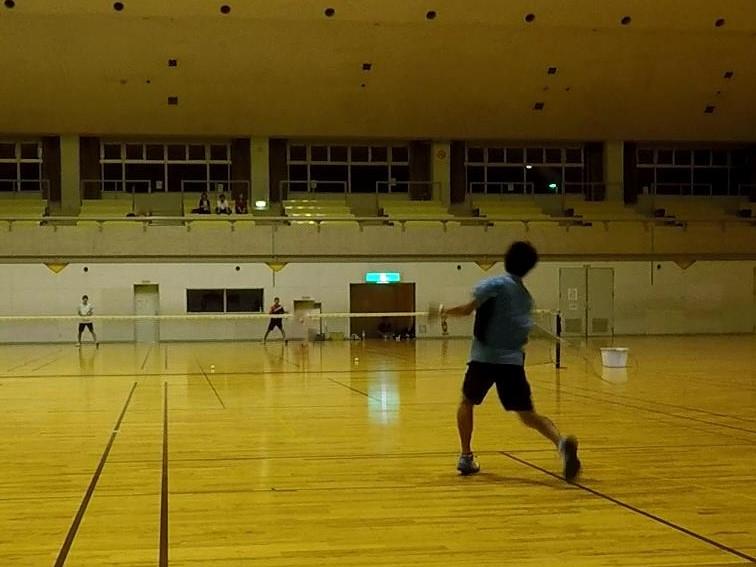2018/06/29(金) プラスワン・ソフトテニス練習会(急遽)