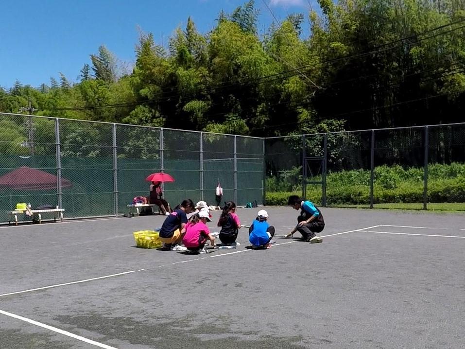 2018/06/16(土)午前 未経験者からの練習会 プラスワン・ソフトテニス