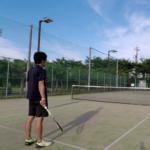2018/07/04(水)夕方 個別練習会・プラスワンソフトテニス
