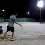 2018/06/07(木)夜間 個別練習会・プラスワンソフトテニス