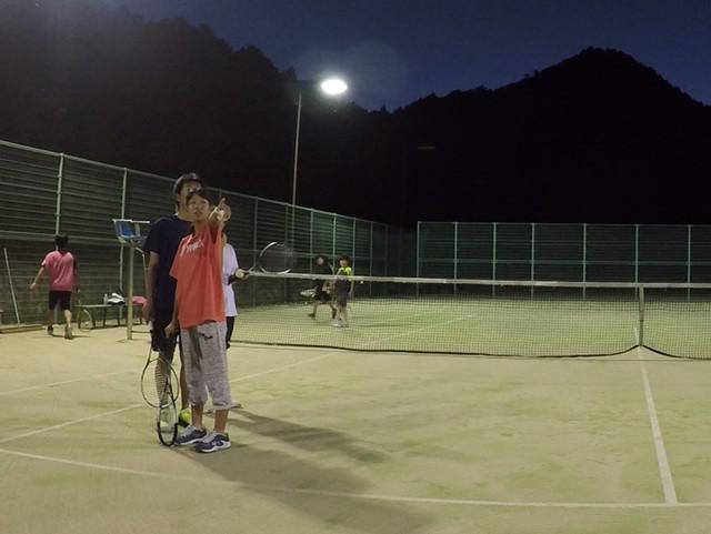 2018/07/14(土)夜間 初心者からの練習会 プラスワン・ソフトテニス