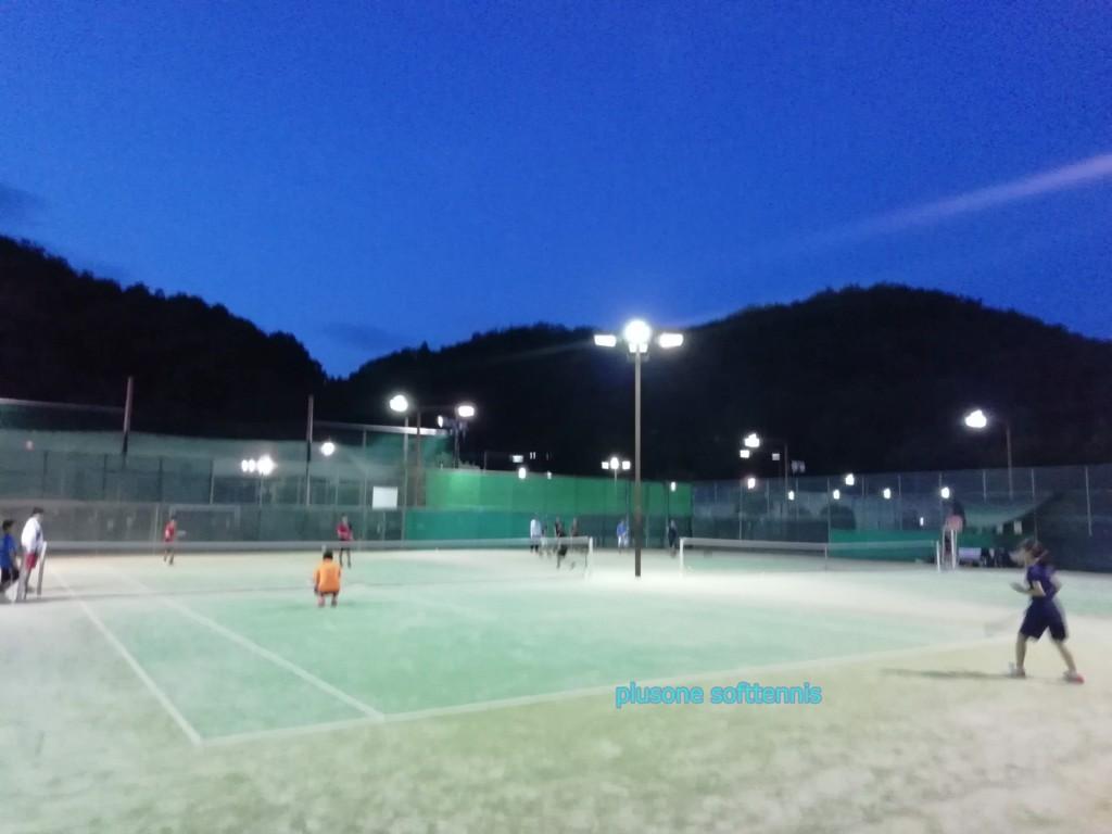 京都軟式庭球倶楽部の練習会にお邪魔してきました。