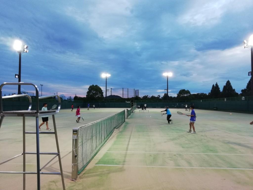 2018/07/11(水) 初心者からの練習会 プラスワン・ソフトテニス