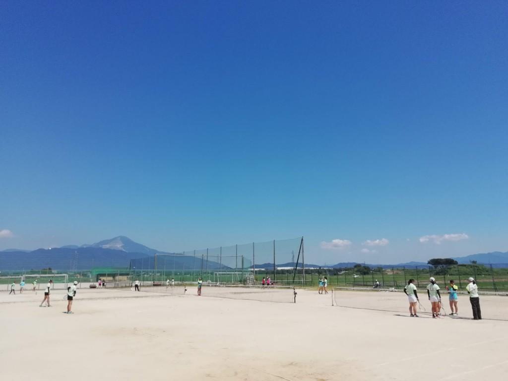 2018/07/15(日) 高校部活の練習試合へ。