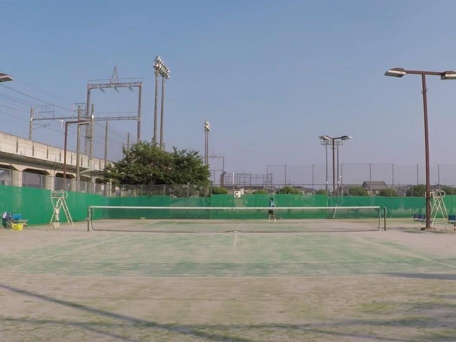 2018/07/19(木) 個別練習会@大津市 プラスワンソフトテニス