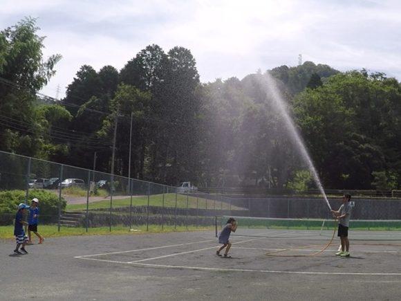 2018/07/14(土)午前 未経験者からの練習会 プラスワン・ソフトテニス