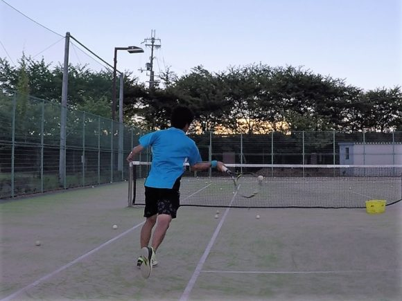 2018/07/14(土)夕方 個別練習会・プラスワンソフトテニス
