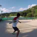 2018/07/20(金)夕方 出張個別練習会@近江八幡市 プラスワンソフトテニス