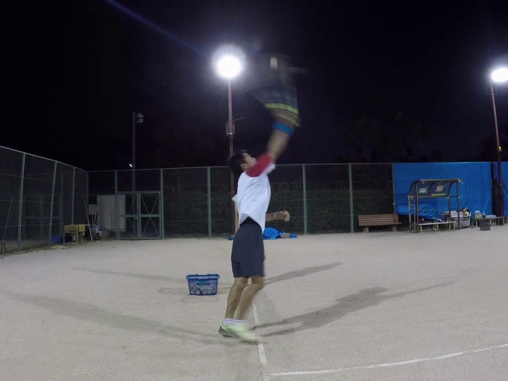 2018/07/20(金)夜間 出張個別練習会@近江八幡市 プラスワンソフトテニス