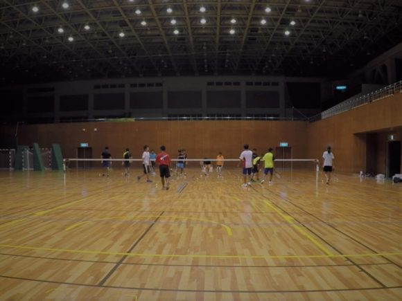2018/08/20(月) 練習会 プラスワン・ソフトテニス