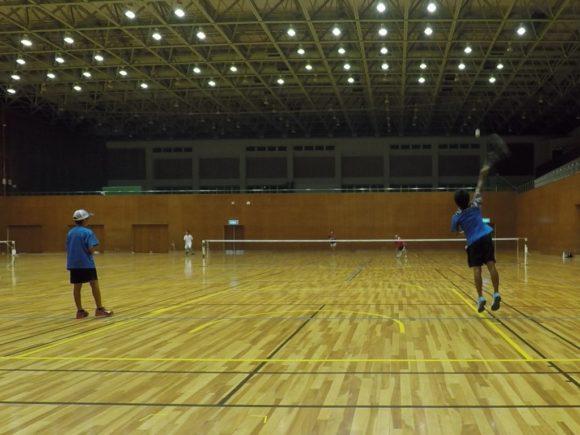 2018/08/22(水) 一般のみのゲームデー プラスワン・ソフトテニス