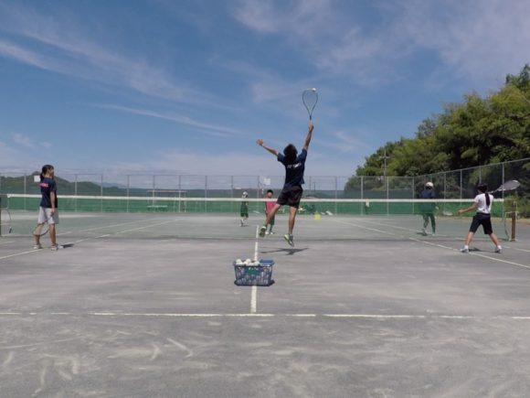 20180818(土)午前 未経験者向け練習会 プラスワン・ソフトテニス