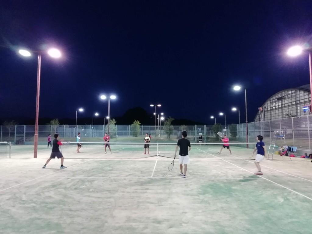 2018/07/23(月) 練習会 プラスワン・ソフトテニス