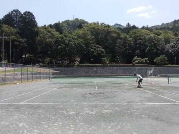 2018/08/04(土)午前 未経験者向け練習会 プラスワン・ソフトテニス