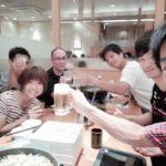 2018/08/11(土) 夏恒例お食事会 しゃぶしゃぶの会