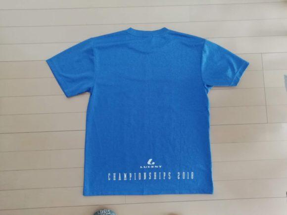 ルーセント 近畿大会2018限定Tシャツ