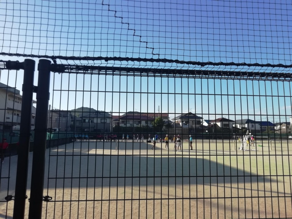 2018/08/26(日) 中学新人戦観戦に行ってきました。 プラスワン・ソフトテニス