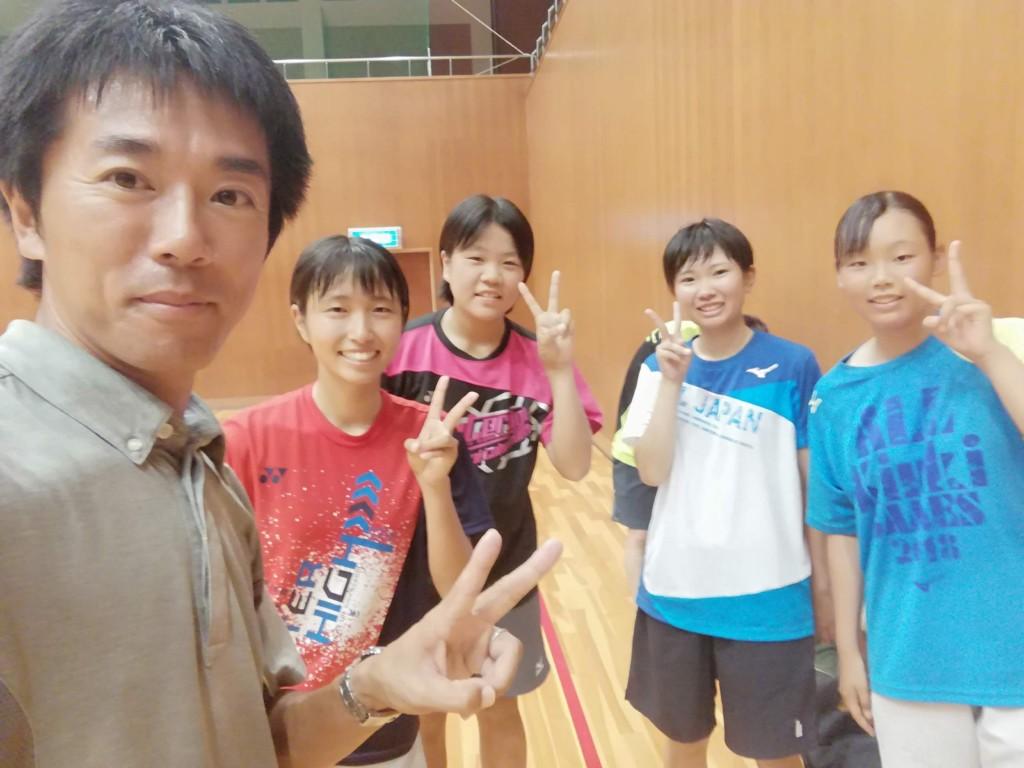 2018/08/28(火) 練習会 プラスワン・ソフトテニス