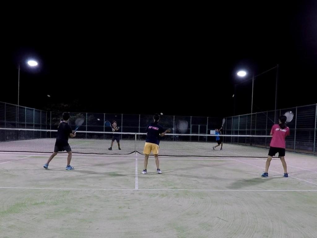 2018/08/17(金) 練習会 プラスワン・ソフトテニス