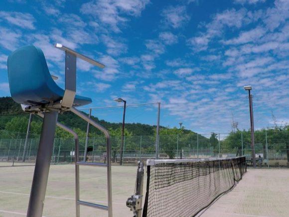 2018/08/10(金)午後 出張個別練習会@滋賀県東近江市 プラスワン・ソフトテニス 繖公園