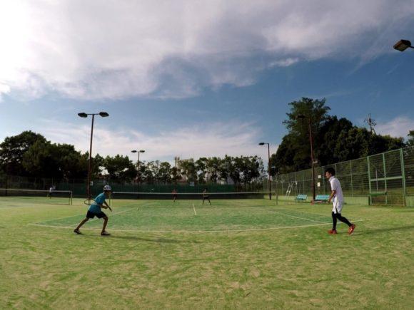 2018/08/11(土) 急遽・練習会 プラスワン・ソフトテニス