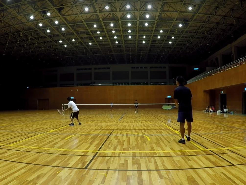 2018/08/06(月)夜間 練習会 プラスワン・ソフトテニス