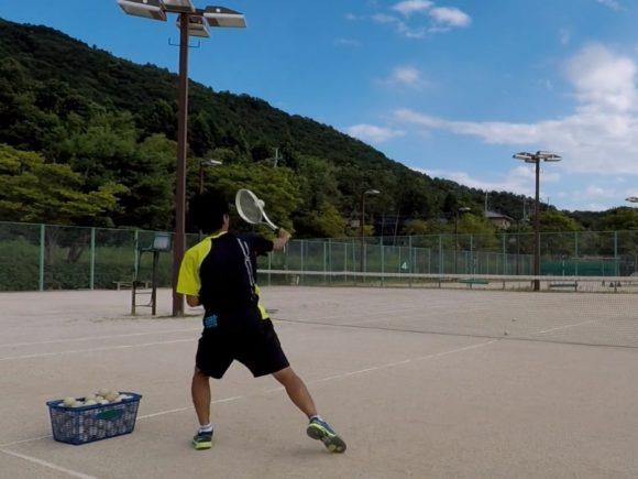 2018/08/10(金)夕方 出張個別練習会@滋賀県近江八幡市 プラスワン・ソフトテニス