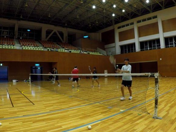 2018/07/24(火) 練習会 プラスワン・ソフトテニス