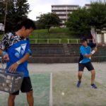 2018/08/02(木) 出張個別練習会@滋賀県大津市 プラスワン・ソフトテニス