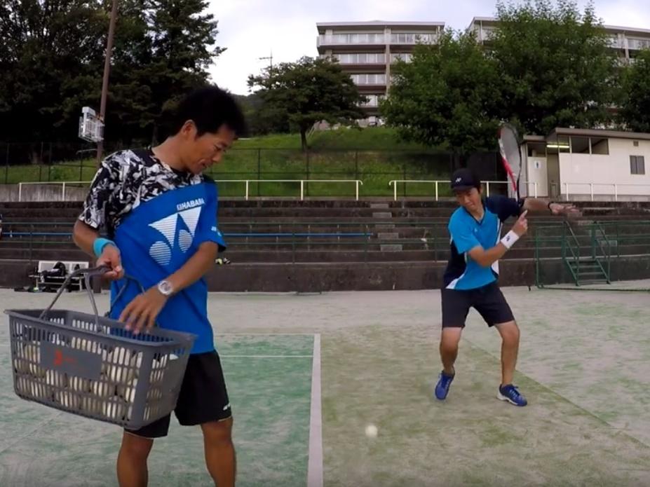 20180802(木) 出張個別練習会@滋賀県大津市 プラスワン・ソフトテニス