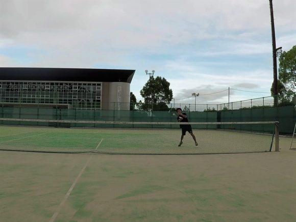 2018/08/20(月)夕方 出張個別練習会@滋賀県近江八幡市 プラスワン・ソフトテニス