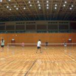 2018/09/19(水) 初級者練習会 プラスワン・ソフトテニス