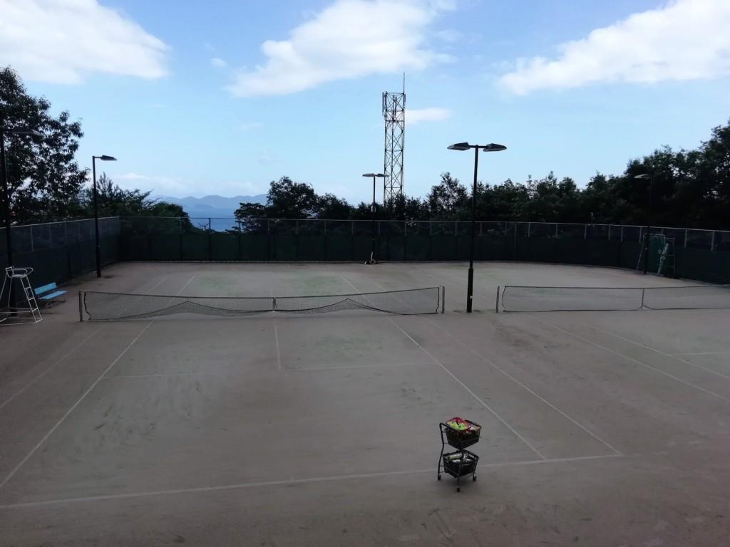 滋賀県大津市 北小松滝山テニスコート