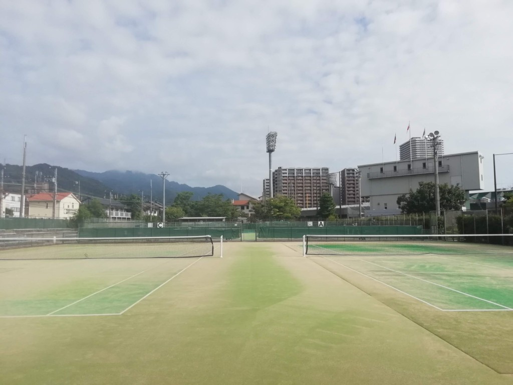 滋賀県大津市 皇子山総合運動公園テニスコート